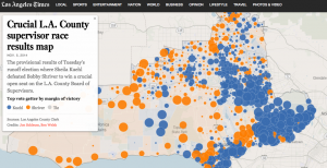 How LA Voted In the recent 2014 Midterm Elections Interactive Map LAtimes.com
