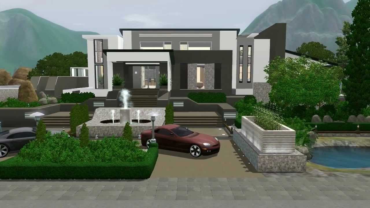 Alexanakamura dh101 fall 2014 for Modern house design the sims 3