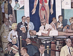 Detail from the cover of Medical Times, May 1960