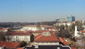 Atlanta, as seen from the top floor of Emory's Woodruff Library